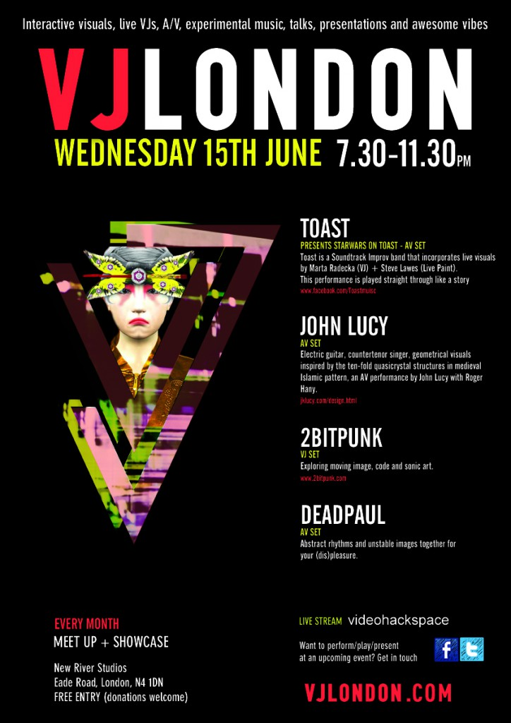 poster VJ London June 2016