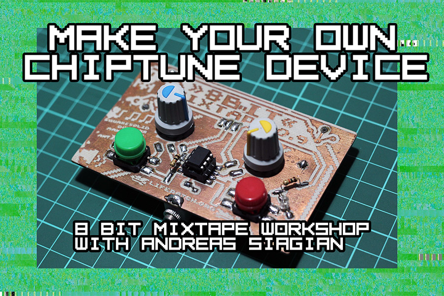 Make Your Own Chiptune Device 8bit Mixtape Workshop