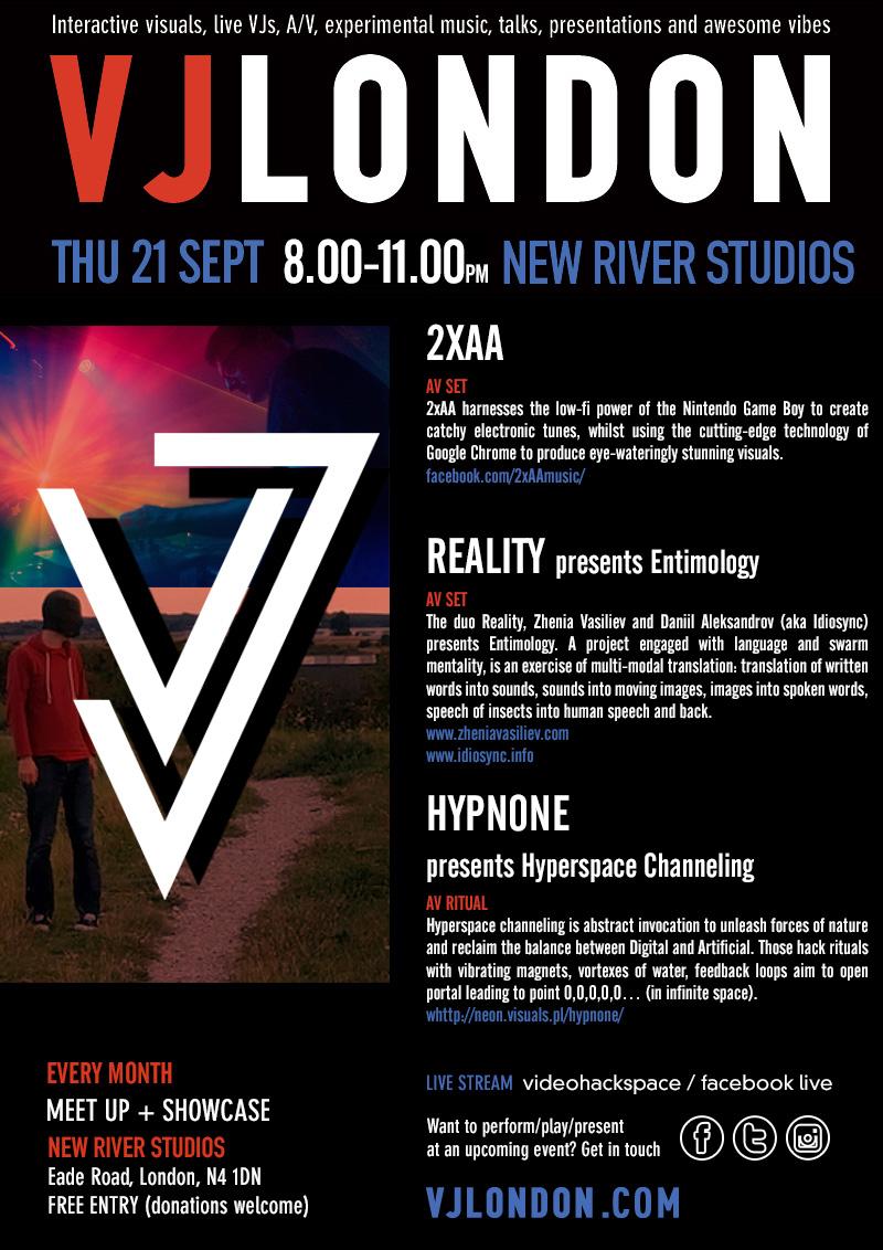 September VJ Meet-up & Showcase - VJ London